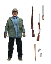 "Jaws - Sam Quint 8"" Clothed Action Figure 