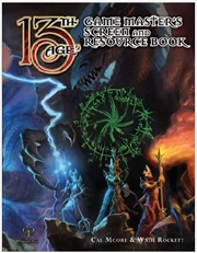 13th Age RPG - GM Screen and Resource Book Supplement | Merchandise