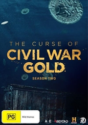 Curse Of Civil War Gold - Season 2, The | DVD