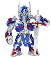 "Transformers: The Last Knight - Optimus Prime 4"" Metals 