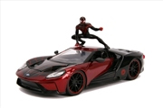 Spider-Man - Miles Morales 2017 Ford GT 1:24 Scale Hollywood Ride | Merchandise