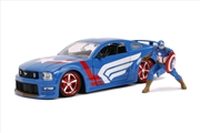 Captain America - 2006 Ford Mustang GT 1:24 Scale Hollywood Ride | Merchandise
