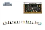 Minecraft - Nano Metalfigs 20-pack wave 01 | Merchandise