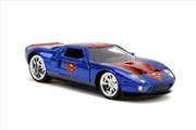 Superman - Ford GT 2005 1:32 Scale Hollywood Ride | Merchandise