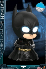 Batman: Dark Knight - Batman with Sticky Bomb Gun UV Cosbaby | Merchandise