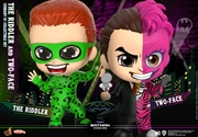 Batman Forever - Riddler & Two-Face Cosbaby Set | Merchandise