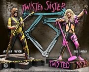 Twisted Sister - Set of 2 Rock Iconz Statues | Merchandise