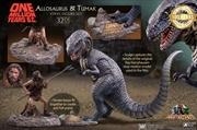 One Millions Years BC - Allosaurus & Tumak Vinyl Statue   Merchandise