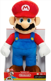 World of Nintendo Jumbo Plush Mario 12"