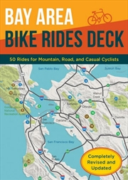Bay Area Bike Rides Deck, Revised Edition | Sheet Map