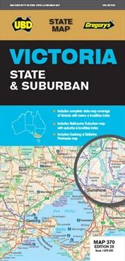 Victoria : State & Suburban Map 370 | Sheet Map