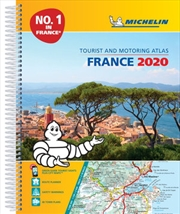 France Motoring Atlas 2020 | Spiral Bound