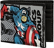 Marvel Captain America Bi-fold Wallet | Apparel