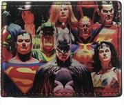 DC Comics Heroes Vs Villains Bi-fold Wallet   Apparel