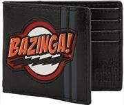 Big Bang Theory Bazinga Rubber Patch Bi-fold Wallet | Apparel