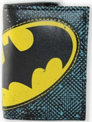 Batman Halftone Applique Tri-fold Wallet | Apparel