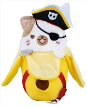 Bananya - Pirate Bananya Plush | Toy