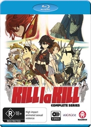 Kill La Kill | Complete Series | Blu-ray