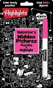 Valentine's Hidden Pictures® Puzzles to Highlight | Paperback Book