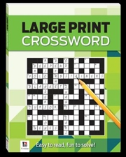 Large Print Crossword Series 4 | Paperback Book