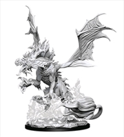 Pathfinder - Deep Cuts Unpainted Miniatures: Nightmare Dragon | Games