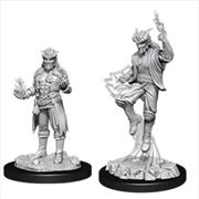 Dungeons & Dragons - Nolzur's Marvelous Unpainted Minis: Male Tiefling Sorcerer | Games