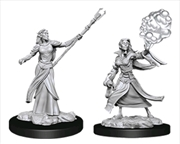 Dungeons & Dragons - Nolzur's Marvelous Unpainted Minis: Female Elf Sorcerer | Games