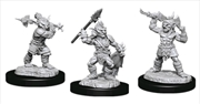 Dungeons & Dragons - Nolzur's Marvelous Unpainted Minis: Goblins & Goblin Boss | Games