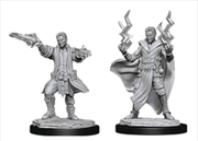Dungeons & Dragons - Nolzur's Marvelous Unpainted Minis: Male Human Sorcerer | Games