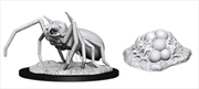 Dungeons & Dragons - Nolzur's Marvelous Unpainted Minis: Giant Spider & Egg Clutch | Games