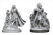 Dungeons & Dragons - Nolzur's Marvelous Unpainted Minis: Female Tiefling Sorcerer | Games