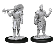 Dungeons & Dragons - Nolzur's Marvelous Unpainted Minis: Male Half-Elf Bard | Games