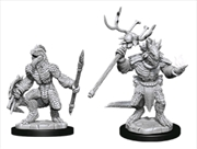 Dungeons & Dragons - Nolzur's Marvelous Unpainted Minis: Lizardfolk & Lizardfolk Shaman | Games