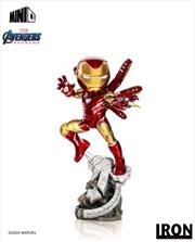 Avengers 4: Endgame - Iron Man Minico PVC Figure | Merchandise