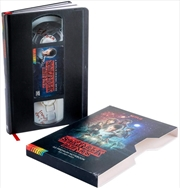 Stranger Things VHS Notebook | Merchandise