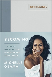 Becoming - A Guided Journal for Discovering Your Voice | Hardback Book