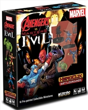 Heroclix - Battlegrounds: Avengers vs Masters of Evil | Merchandise