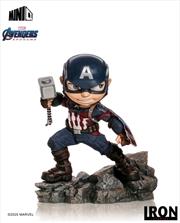 Avengers 4: Endgame - Captain America Minico PVC Figure | Merchandise
