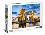 Tower Bridge At Dusk   Merchandise