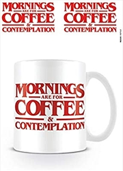 Stranger Things - Coffee And Contemplation mug | Merchandise