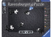 Ravensburger - KRYPT Black Puzzle 736 Piece  | Merchandise