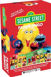 Family Bingo - Sesame Street | Merchandise