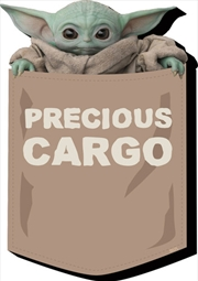 Star Wars: The Mandalorian- The Child Baby Yoda Cargo Funky Chunky Magnet | Merchandise