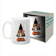 Clockwork Orange Knife Ceramic Mug | Merchandise
