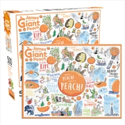 Roald Dahl – James Giant Peach 500pc Puzzle | Merchandise