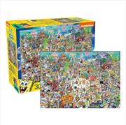Spongebob Squarepants 3000 Piece Puzzle | Merchandise