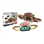 Friends – Central Perk Logo & Collage 600pc Double-Sided Puzzle | Merchandise