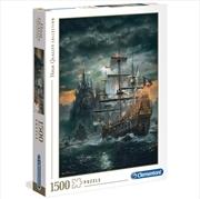 Pirate Ship - Clementoni 1500 Piece Puzzle   Merchandise
