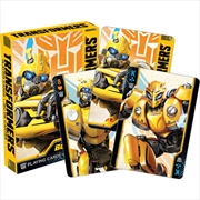 Transformers – Bumblebee Playing Cards | Merchandise