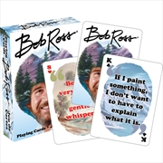 Bob Ross Quotes 2 Playing Card | Merchandise